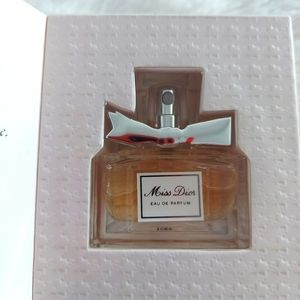 Travel size Miss Dior fragrance